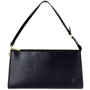 Authentic Louis Vuitton Epi Porchette Mini Bag